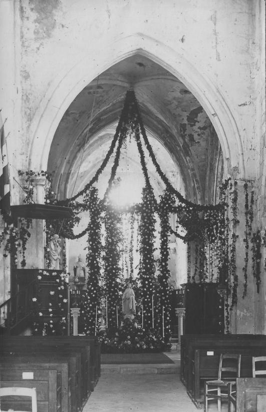 Bénédiction statue Ste Thérèse le 24 Juin 1928