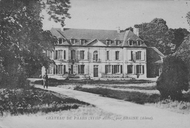 Château de Paars en 1922