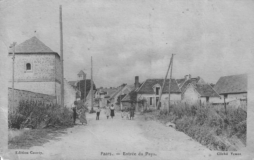 Entrée de Paars en 1941