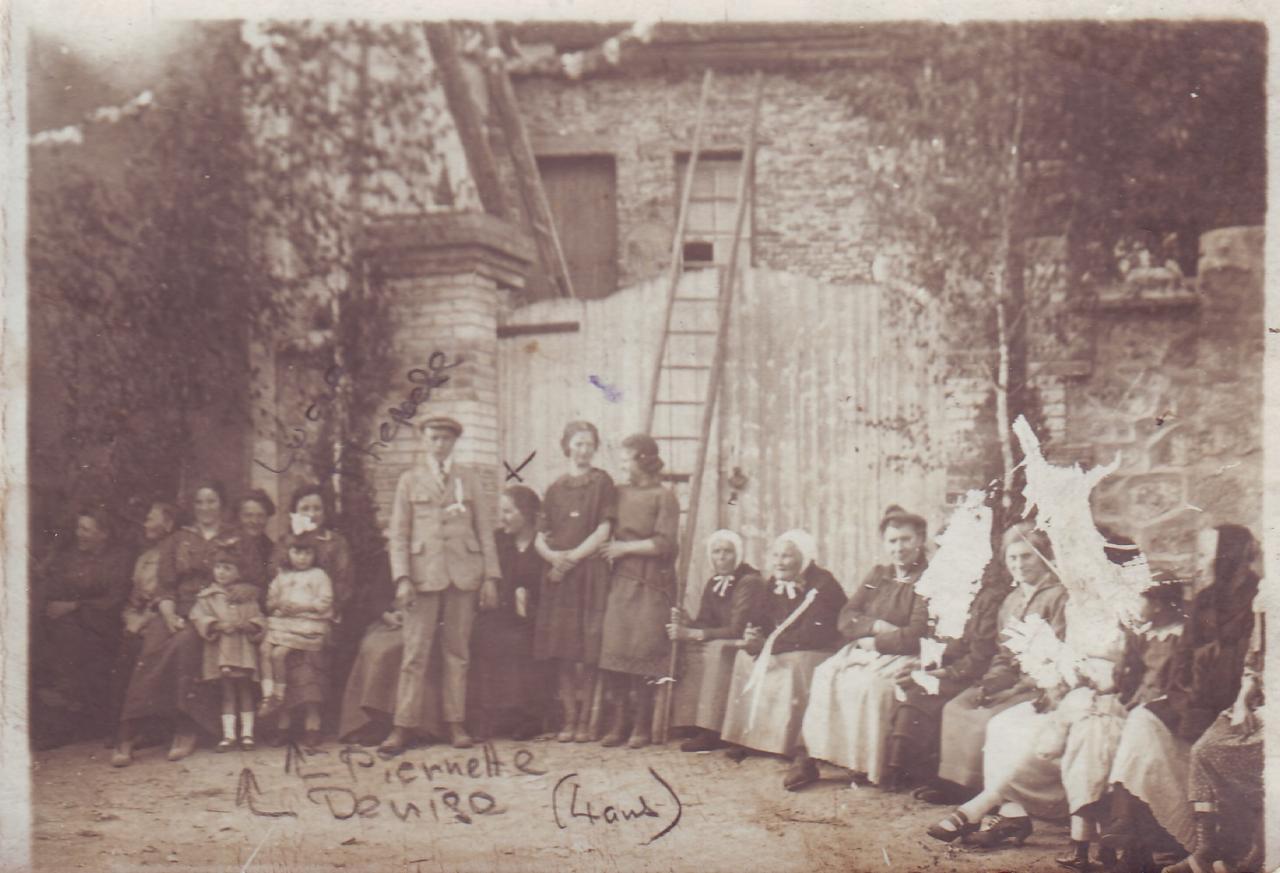 Fête à Paars en 1925