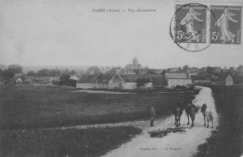 Paars en Juin 1914