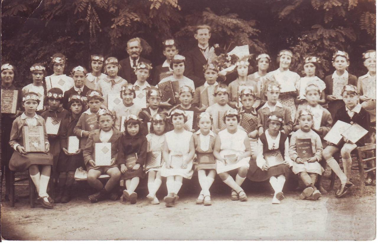 Photo école à Paars en 1933