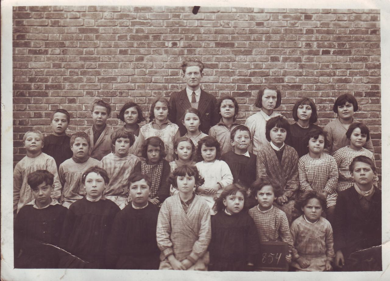 Photo école de Paars en 1933