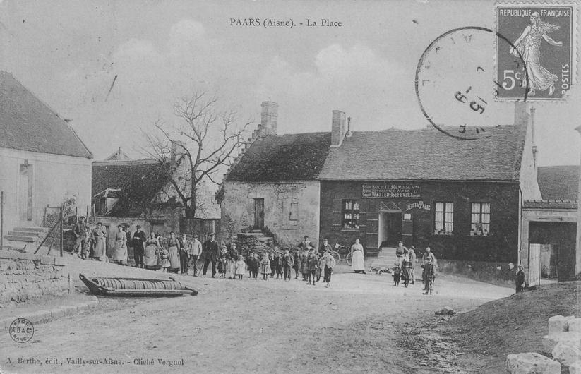 Place de Paars en 1909