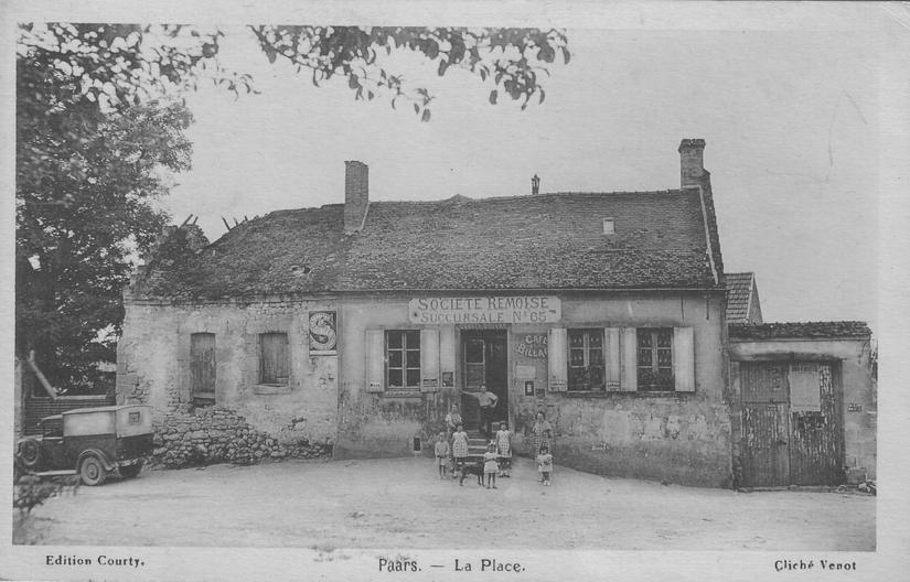 Place de Paars en 1941