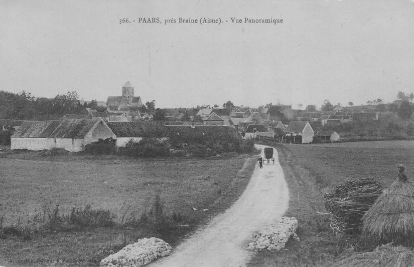 Vue panoramique de Paars